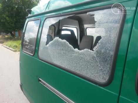 Мариуполе обстреляли пограничников