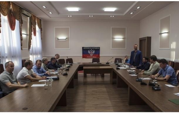 Переговоры между Киевом и Донбассом в Донецке