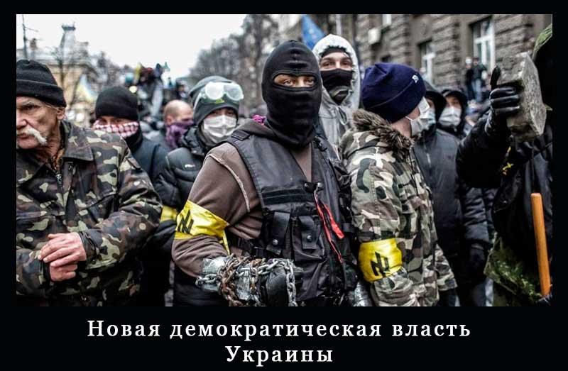 Новая демократическая власть Украины
