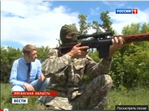 Репортаж с базы ополчения Луганска (видео)