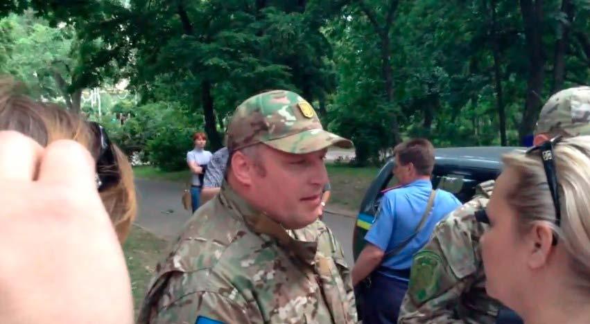 боевики батальона Слобожанщина