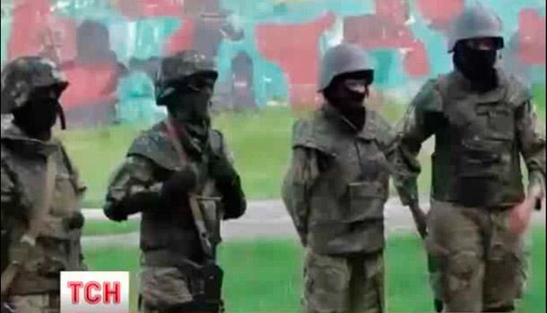 Женское подразделение Донбасс