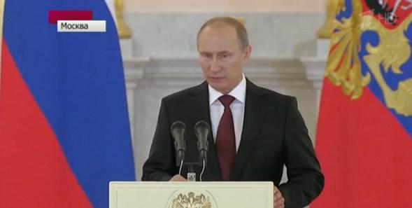 Комментарии Владимира Путина к последним событиям на Украине