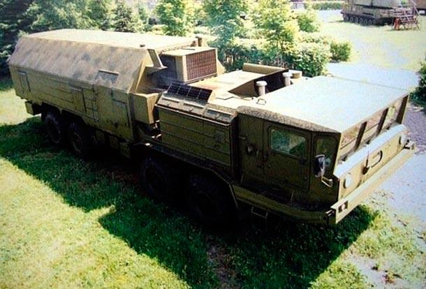 командного пункта зенитной ракетной бригады 9С52 М «Поляна-Д4 М»