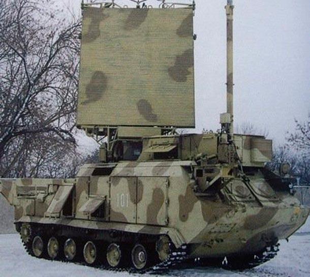 радиолокационная станция 9С18 М1 «Купол»