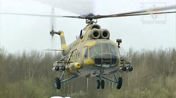 Возле Славянска сбит вертолет МИ-8