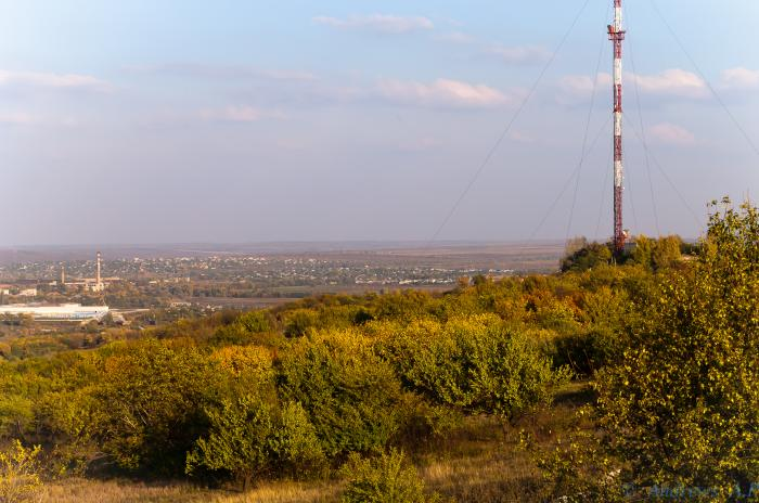 Рухнула телевышка на горе Карачун