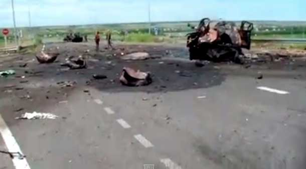 14 июня – разбита колона украинских силовиков