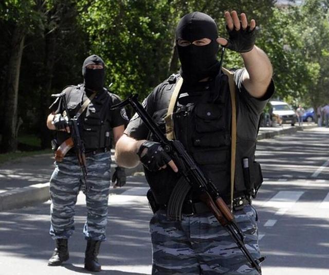 Ополченцы захватили МВД Донецка