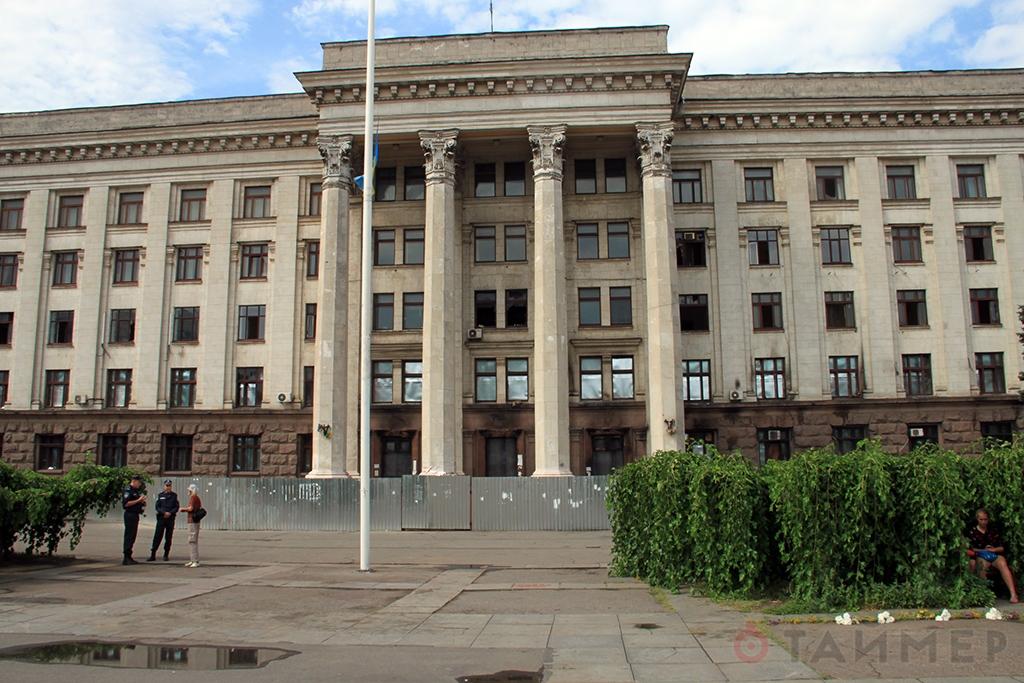 В Одессе вандалы уничтожили мемориал погибшим 2 мая