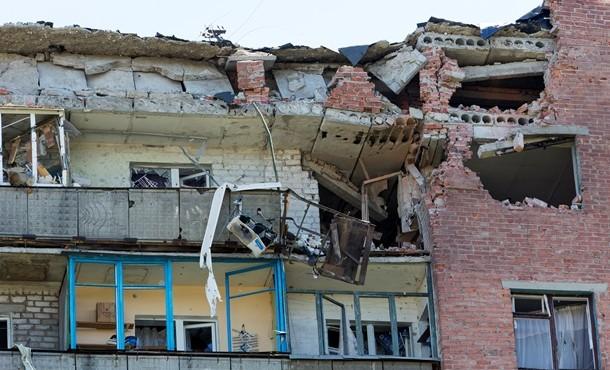 Краматорск после бомбежки