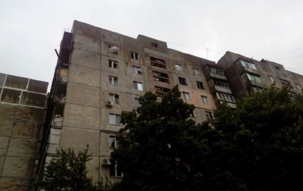 Снаряд с Украины попал в Российский жилой дом