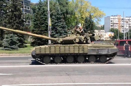 Бои в Донецке фото, видео – репортаж