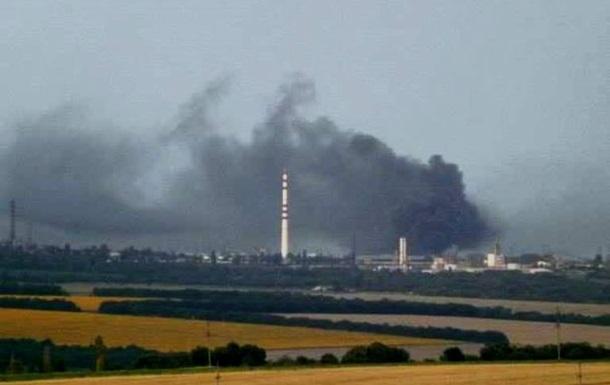 Разрушение Лисичанска