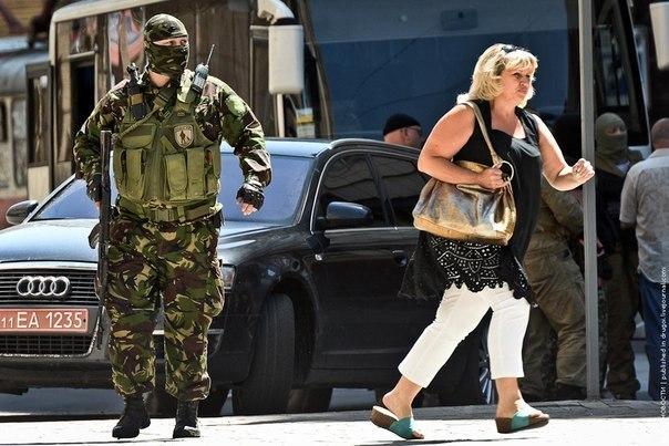 Бои в Донецке выиграли ополченцы