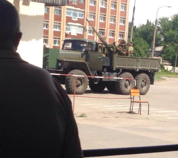 Бой в Луганске 4 июля