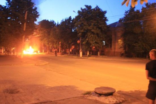 Обстрелянный Артёмовск