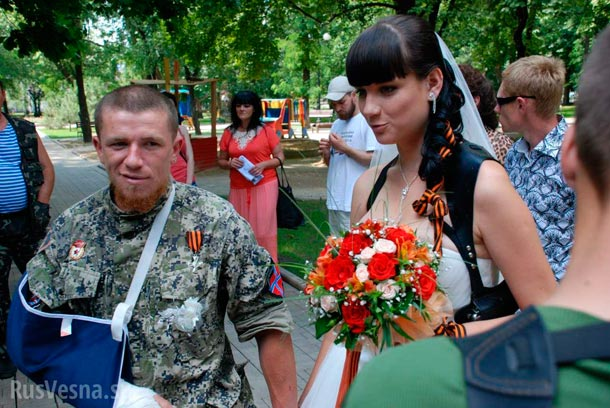 Свадьба Моторолы и Елены