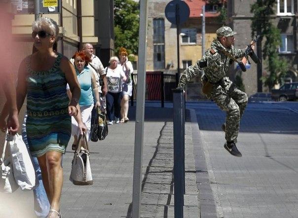 В бою в Донецке победили ополченцы
