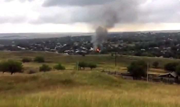 Украинские военные расстреляли из артиллерии Краснодон