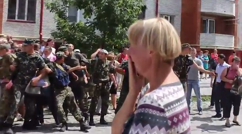 На Украине начинаются массовые протесты против АТО