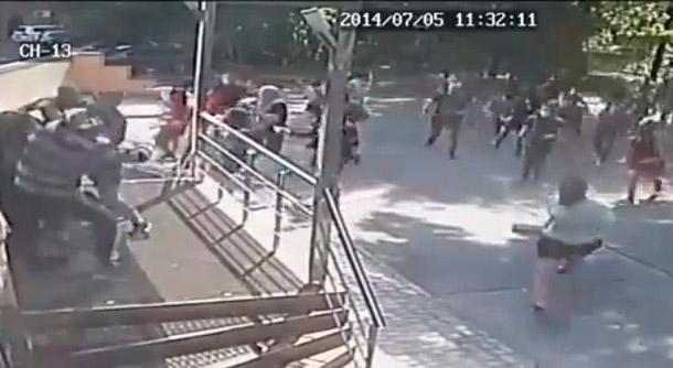 Майдановцы устроили погром в Киевской редакции газеты «Вести»