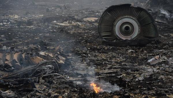 малазийский «Боинг» сбит с самолета
