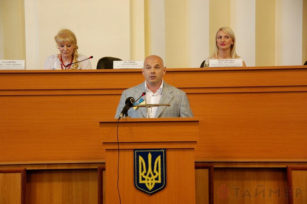Игорь Паляница заставил Одесских учителей одеть вышиванки