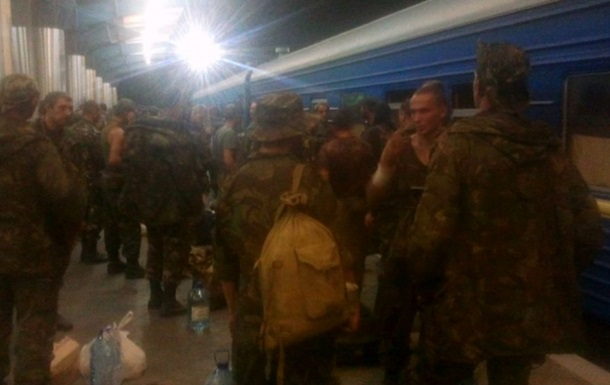 Бойцы 72-ой бригады, вернувшиеся из России на грани бунта