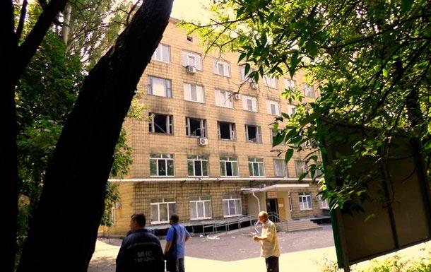 Донецк под обстрелом 7 августа