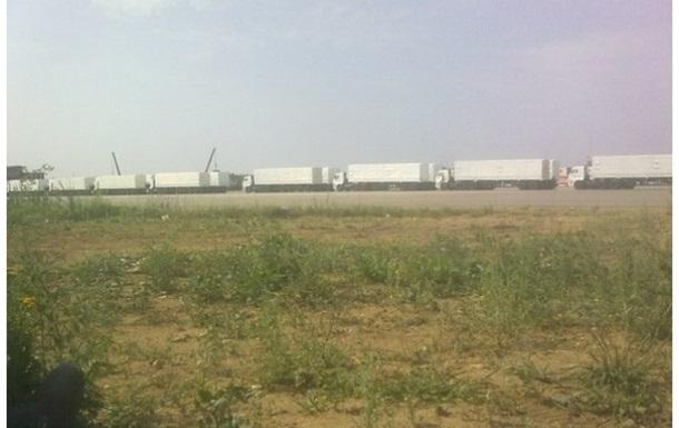 Российский гуманитарный конвой не войдет на территорию Украины