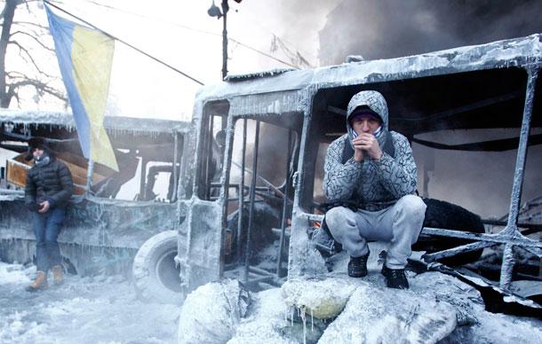 Украина - зима 2015