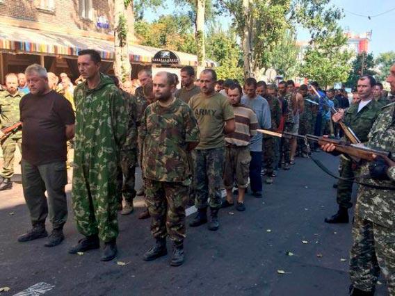 парад военнопленных в Дрнецке