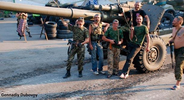 Война на Донбассе - новый фото-видео репортаж