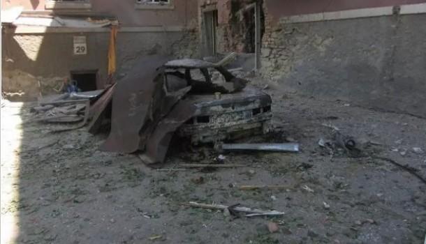 Луганск превращается в руины