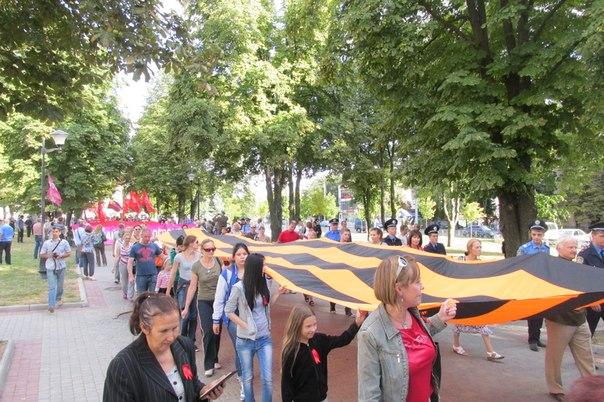 В Харькове на день освобождения города прошел масштабный антифашистский митинг