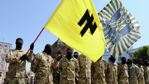 За украину воюют неонацисты
