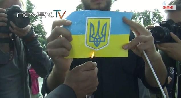 """День """"независимости"""" Украины в Петербурге"""