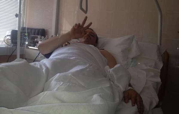 Семенченко ранен в дупу (задницу)