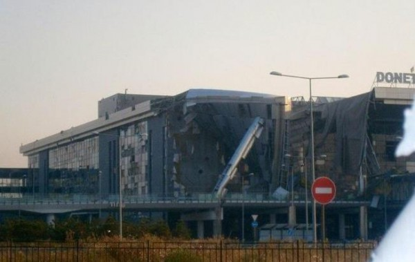 ополченцы взяли под контроль здание нового терминала