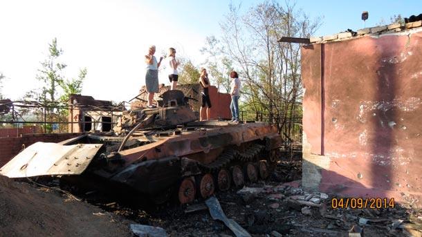 Боевая сводка Новороссии 05.09