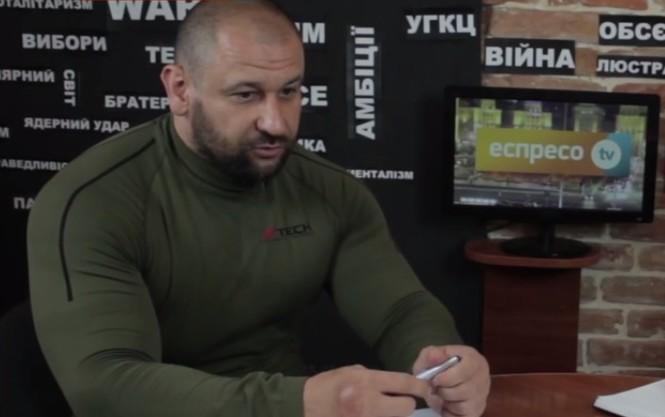 Герой Украины Руслан Онищенко