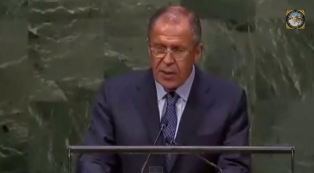 Выступление Лаврова на 69-й сессии Генеральной Ассамблеи ООН
