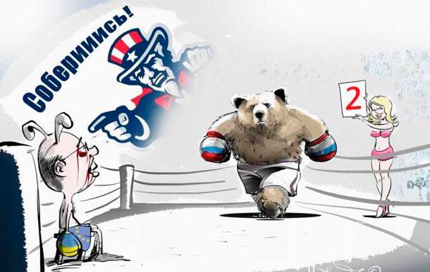 Украинская политика в карикатурах от Виталия Подвицкого
