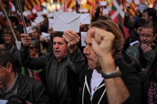 Каталония высказалась за отделение от Испании
