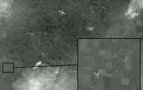 Боинг 777, снимок из космоса