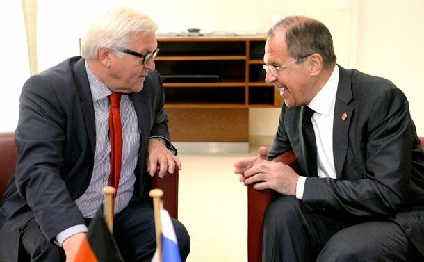 Штайнмайер не видит Украины в НАТО,