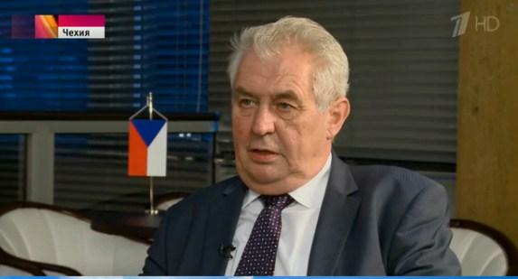 Президент Чехии считает любую экономическую помощь Украине бессмысленной
