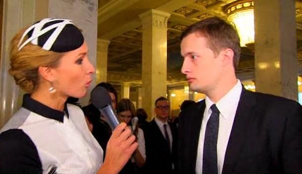 Сын Порошенко рассказал как воевал в Донбассе