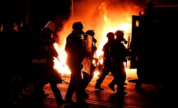 Массовые беспорядки в Фергюсоне